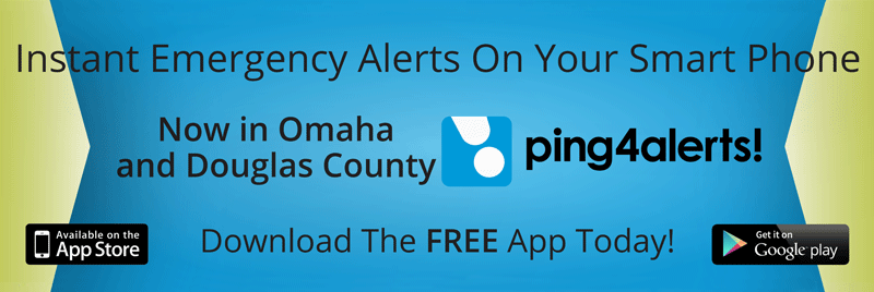 Ping 4 Alerts! Now in Omaha and Douglas County.