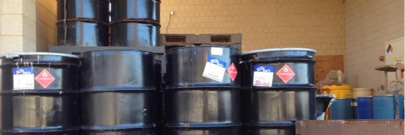 barrels of hazardous materials